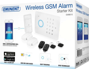 Wireless GSM Alarm